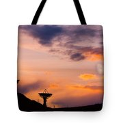 Communication To Space  Tote Bag