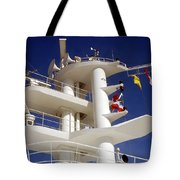 Communication Tower Tote Bag