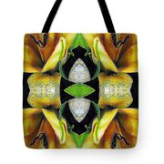 Compassion - Card X From The Tarot Of Flowers Tote Bag