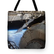 Components Of The International Space Tote Bag by Stocktrek Images