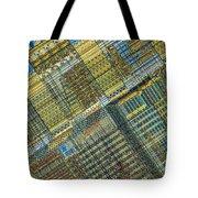 Computer Chip Tote Bag