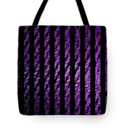 Computer Generated Magenta Abstract Fractal Flame Black Backgroud Tote Bag