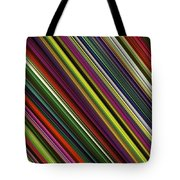 Computer Generated Stripe Abstract Fractal Flame Black Background Tote Bag