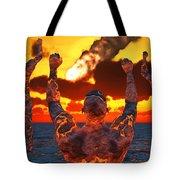 Conceptual Image Based On The Myths Tote Bag