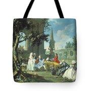 Concert In A Garden Tote Bag by Filippo Falciatore