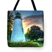 Concord Point Lighthouse 2 Tote Bag