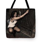 Concrete Velvet 13 Tote Bag by Donna Blackhall