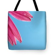 Cone Flower And Blue Sky Tote Bag