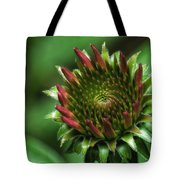 Coneflower Close-up Tote Bag