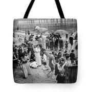 Coney Island: Beach Tote Bag