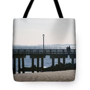 Coney Island Coast Tote Bag