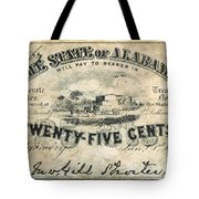Confedrate Currency Tote Bag