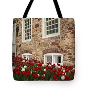Conference House In Tottenville Tote Bag