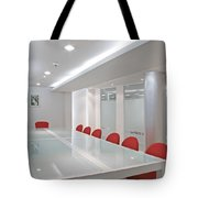 Conference Room Tote Bag by Setsiri Silapasuwanchai