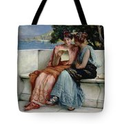 Confidences Tote Bag by Guglielmo Zocchi