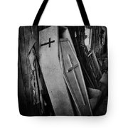 Confined  Tote Bag by Empty Wall