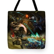 Conflict Never Ends Tote Bag