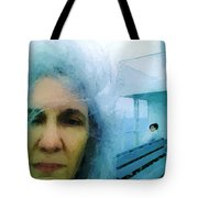 Confronting The Ferryman Tote Bag