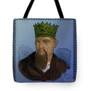 Confucius, Chinese Philosopher Tote Bag