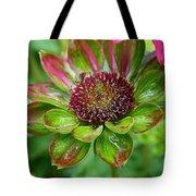 Confused Cone Flower Tote Bag