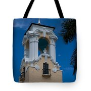 Congregational Church Tower Tote Bag