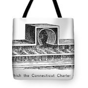 Connecticut: Charter Box Tote Bag