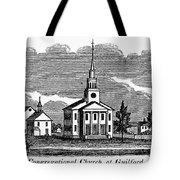 Connecticut: Church, 1836 Tote Bag