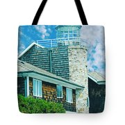 Conneticut Coastal Home Tote Bag