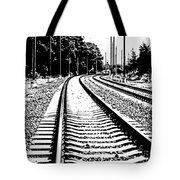 Conneticut Railway Tote Bag
