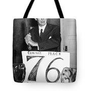 Connie Mack (1862-1956) Tote Bag