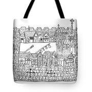 Constantinople, Procession At City Tote Bag