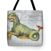 Constellation Of Cetus The Whale Tote Bag