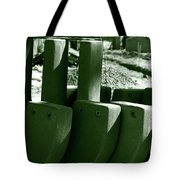 Construction Site Curves Tote Bag