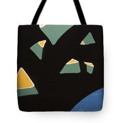 Containers In Space Tote Bag