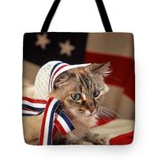 Contemplative Patriot Tote Bag