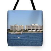 Contemporary Hotel Tote Bag