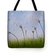 Contemporary Landscape Art Make A Wish By Amy Giacomelli Tote Bag