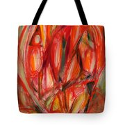 Contemporary Painting Three Tote Bag