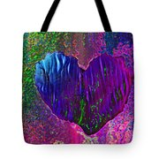 Contours Of The Heart Tote Bag