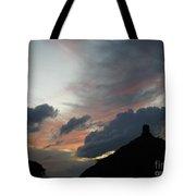 Contrasting Skies Tote Bag