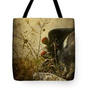 Conversation Dirt Road Tote Bag by Empty Wall