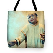 Conversation With God Tote Bag