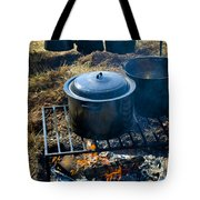 Cook Fire Tote Bag