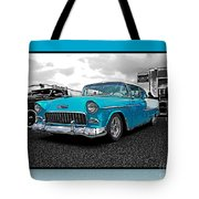 Cool Blue Chevy Tote Bag