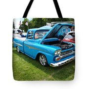 Cool Blues Classic Truck Tote Bag