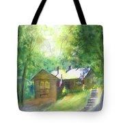 Cool Colorado Cabin Tote Bag