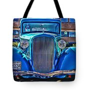 Cool Front End Hdr Tote Bag