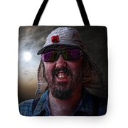 Cool Hat Colour Tote Bag