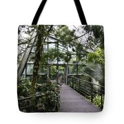 Cool House Inside The National Orchid Garden In Singapore Tote Bag