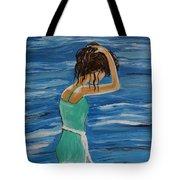 Cool Ocean Breeze Tote Bag